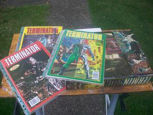 Complete set of Terminator UK comics ALL MUST GO!