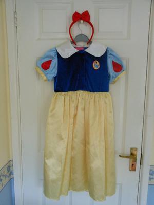 Disney Snow White Princess Dress age 5-7 / Dressing Up Play