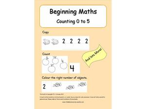 Downloadable maths books ages 3 to 6 in Crowborough