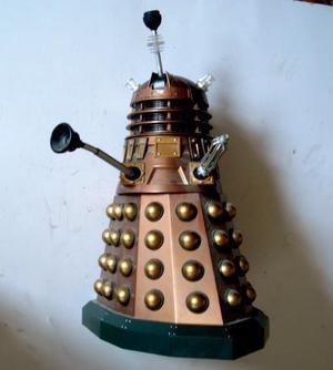 GOLD Darlek & Black 12 inch High Large Remote Control Dr Who