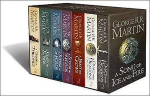 Game of Thrones Book set George RR Martin