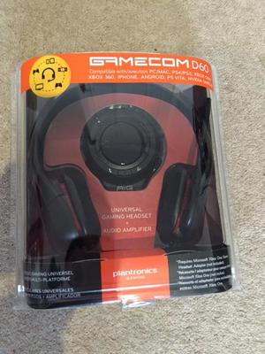 Gamecom D60 Gaming Headphones for Sale
