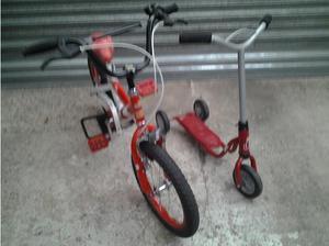 Girls bike 3-5 Year old in Nuneaton