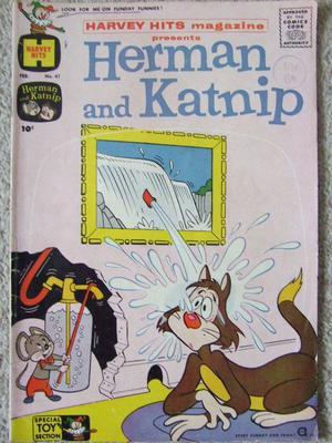 HERMAN & KATNIP VOL 1 NO: 41 FEB  HARVEY COMICS