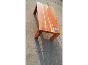 Handmade wooden coffee table, a beautiful feature for any