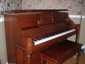 Heintzman upright piano