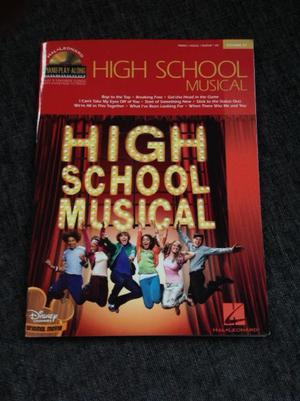 High School Musical Piano / Vocal / Guitar Book & CD