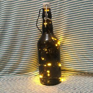 Kilner fairy light jar