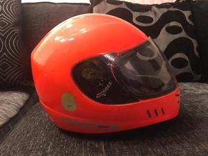 Koden kart racing helmet small cm Flo Red