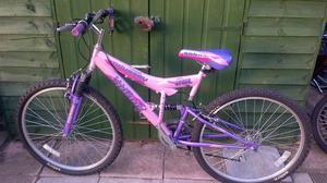 Ladies full suspension cycle