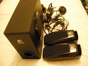 Logitech 2.1 channel speaker system for a PC