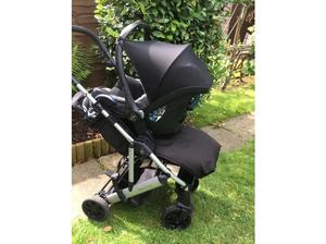 Mamas and Papas Luna Pushchair and Maxi Cosi Car Seat in
