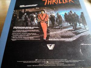 Michael Jackson's Thriller on video disc