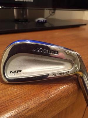 Mizuno MP -FLI - HI, Cut Muscle, 4 Iron 24 Degree.