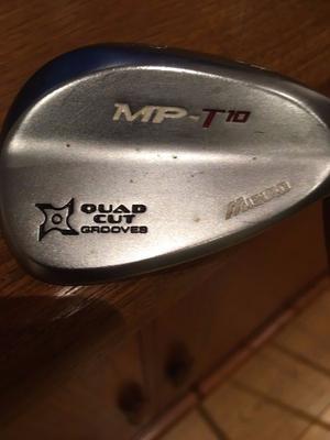 Mizuno MP T10, Quad Cut Grooves, 52 Wedge