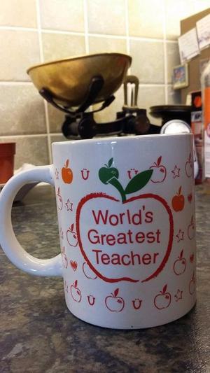 Mugs for a teacher