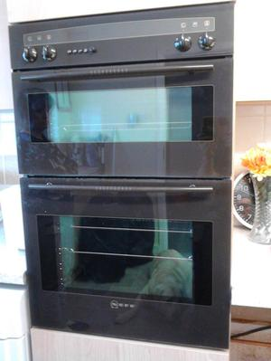 Neff built-in oven brown in good used condition