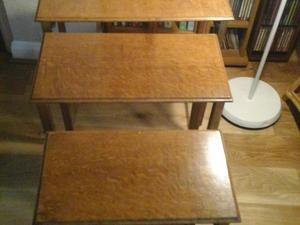 Nest of 3 side tables