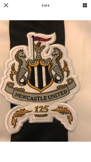 Newcastle  football shirt 125 years