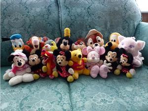 Original Disney Character Soft Toy Souvenirs job lot bundle