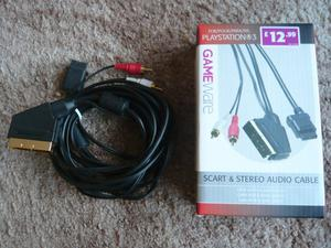 PS3 scart & stereo audio cable