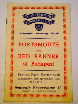 Portsmouth v Red Banner of Budapest
