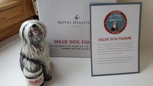 ROYAL DOULTON LIMITED EDITION DULUX DOG