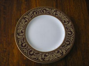"ROYAL DOULTON ""TENNYSON"" SIDE/SALAD PLATE H"