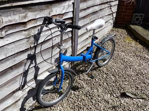 Raleigh fold away bike 13'' frame