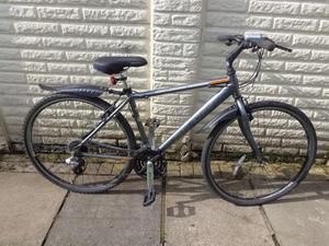 Raleigh hybrid city bike