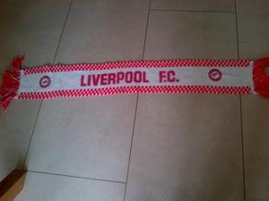 Retro Liverpool Football Scarf