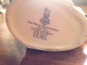 Royal Doulton The Walrus & Carpenter jug