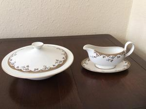 Royal Doulton vegetable tureen and souce boats