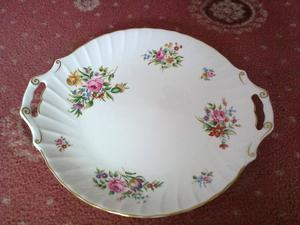 Royal Worcester Handled Plate