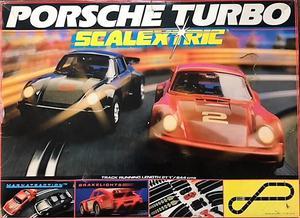 SCALEXTRIC Porsche 911 Turbo Original Boxed - great present
