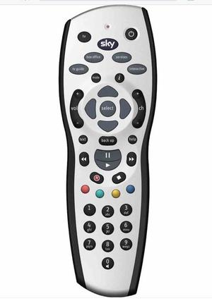 SKY+HD BOX REMOTE CONTROL NEARLY LIKE NEW FOR SALE