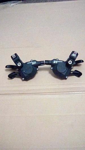 SRAM X7 Gear Shifters 3x9