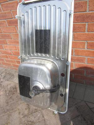 STAINLESS STEEL KITCHEN SINK Only £10