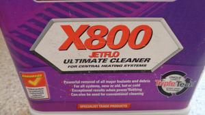 Sentinel X800 Jet flo ultimate cleaner for central heating