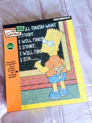 Simpsons photomosaic