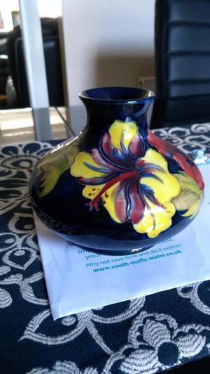 Superb Walter Moorcroft Onion Vase