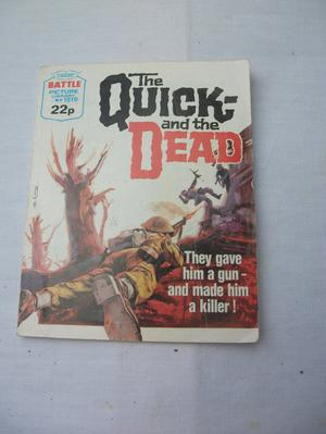 THE QUICK AND THE DEAD BATTLE PICTURE LIBRARY No.