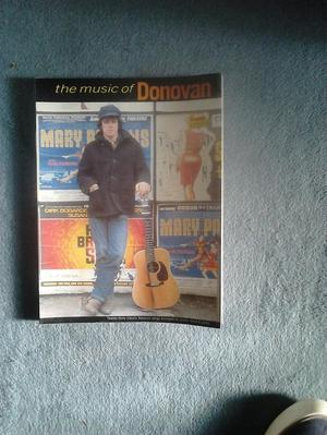 The Music of Donovan songbook, sheetmusic/guitar chords