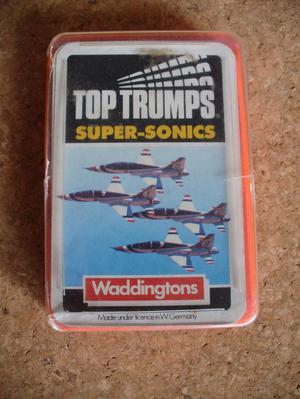 Top Trumps Super-Sonics Complete - Fighter Aeroplanes.