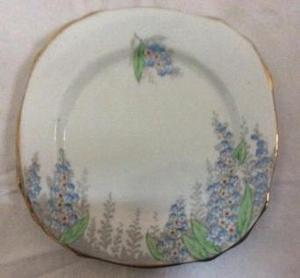 Two Vintage Royal Staffordshire Tea Plates