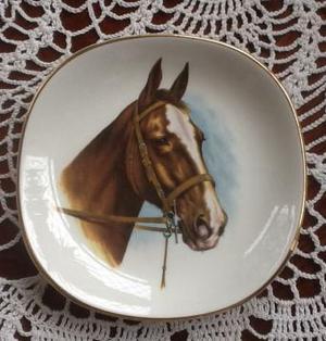 Vintage Royal Falcon ware, Horse Plate.