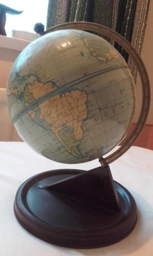 Vintage 's Chad Valley Tinplate Globe