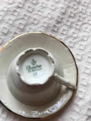 Winterling Bavaria delicate fine china tea cups/saucers