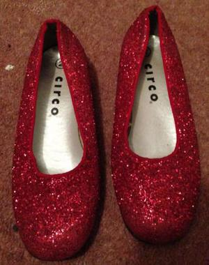 Wizard of OZ shoes size 2
