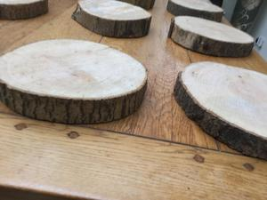 X10 Rustic Wedding Wood Slices